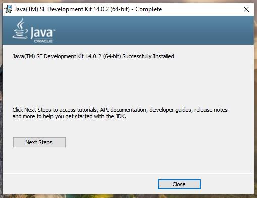 jdk install 2