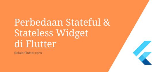 stateful stateless widget