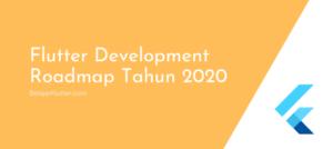 flutter development roadmap