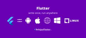 flutter untuk semua platform