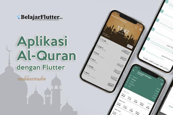 Aplikasi Al-Quran dan Jadwal Shalat dengan Flutter